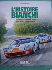 BIANCHI  24 H DU MANS ALPINE FERRARI CITROEN RALLYE TOUR AUTO LUCIEN MAURO JULES