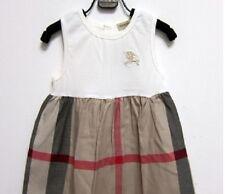 Girls quality designer 100% cotton sleeveless dress size 1-5