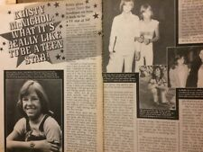 Kristy McNichol, Two Page Vintage Clipping