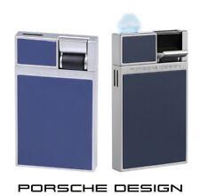 Porsche Design P3632/06 blau Feuerzeug mit Flat-Flame & einzigartigem Design