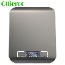 Ollieroo Compact Digital Kitchen Scale Diet Food Postal Mailing 5KG/11LBS x 1g