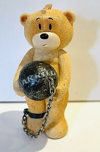 Bad Taste Bears - Shackleton Keyring. Keychain. Ball & Chain. Just Married