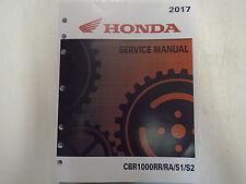 2017 HONDA CBR1000 RR RA S1 S2 CBR1000RR/RA/S1/S2 Service Repair Shop Manual NEW