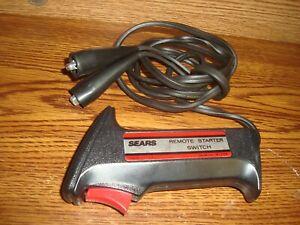 Automotive Sears Remote Starter Switch Model 161.2175 USA