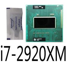 Intel Core i7-2920XM 2.5G/4 cores/8M SR02E Mobile CPU Processor