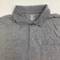 George Polo Shirt Mens XXL Gray Cotton Blend Short Sleeve Casual