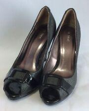 Peep Toe Patent Leather Slim Heels NEXT for Women