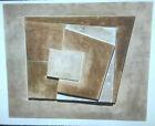 """Ben Nicholson """"July 1963"""" British Abstract Art 35mm Slide"""
