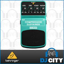 Behringer Compressor/Sustainer CS400 Ultimate Dynamics Effects Pedal *New*