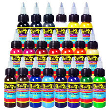 Solong  Tattoo Ink 21 Colors Set 1oz 30ml/Bottle Tattoo Pigment Kit