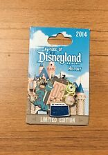 Disney DLR A PIECE OF DISNEYLAND HISTORY Monster's Inc. Mike & Sully PIN 2014 LE