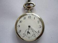 Antique ANCRE Swiss Pocket Watch 15 Rubis Lille 1902 Porcelain Dial