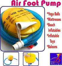 Air Pump Inflator for Swimming Ring Balloon & Yoga Ball Plastic Inflatable Foot