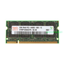 Hynix 2GB DDR2 800MHz 2RX8 PC2-6400S 200pin NON-ECC SO-DIMM RAM Laptop Memory