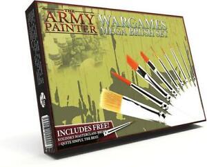 TAPST5113 The Army Painter Hobby Starter: Mega Paint Brush Set