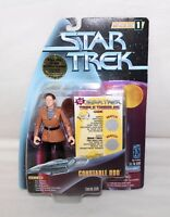 "1997 Playmates STAR TREK Warp Factor Series 1 ""CONSTABLE ODO"" Action Figure IOP"