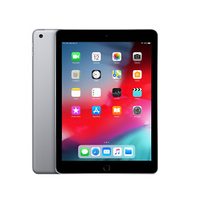 Apple iPad 6th Generation 128GB Wi-Fi Space Grey Excellent Device