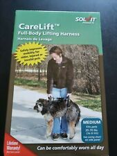 Solvit CareLift FULL Body Dog Lifting Harness For Medium 35-70 pounds USED