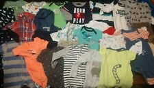 Baby Boy Clothes Lot 0-9month Mixed Lot Mixed Style And Size + 3 Swaddle See Pic