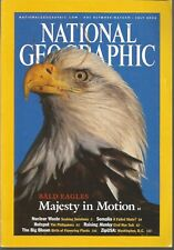 National Geographic July 2002 Nuclear Waste/Bald Eagles/Somalia/Philippines