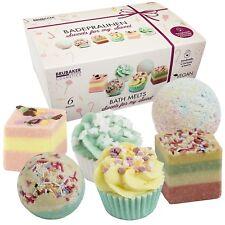 BRUBAKER Boules de bain 'Sweets for my Sweet' - 6 Pièces Coffret cadeau - Vegan