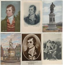 More details for robert burns writer poet freemason collection postcards cigarette card & hanky