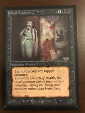 MINT ROYAL ASSASSIN Beta International Edition Magic the Gathering MTG IE 93/94