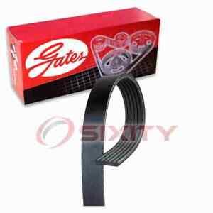 Gates Micro-V Serpentine Belt for 2002-2015 GMC Sierra 2500 HD 6.6L V8 ib