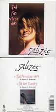 RARE CD Single ALIZEE I'm not twenty + RARE + Mylene FARMER 2-track CARD SLEEVE