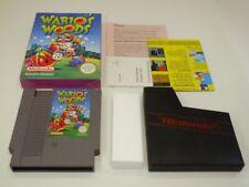 !!! NINTENDO NES jeu WARIO'S WOODS neuf dans sa boîte O. anl. d'occasion, mais bien!!!