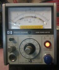 Hewlett Packard Hp Model 435b Power Meter Powers On