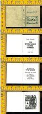Ex Libris b 970 Karoly Andrusko Linz 1980 libretto con 24 mini xilografie