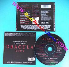CD SOUNDTRACK Dracula 2000 501545 6 GERMANY 2000 no mc lp vhs (OST2)