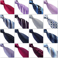 Mens Pattern Business Formal Ties Striped Woven Silk 10cm Necktie Deign Pattern