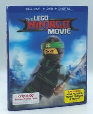 LEGO Ninjago Movie, The (Blu-ray+DVD+Digital, 2017) NEW w/ Lenticular Slipcover