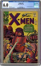 Uncanny X-Men 16 CGC 6.0 - The Supreme Sacrifice! - 3rd SENTINELS!