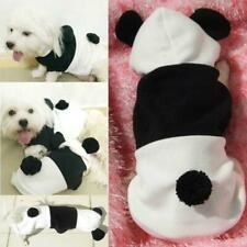 Adorable Clothes Dog Cat Puppy Apparel Pet Hoodie Outfit Fancy Bee/Panda Costume