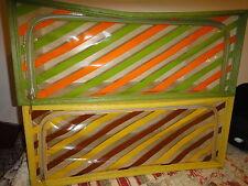 2 Vintage Storage Box Henry A. Enrich  Atomic Era Mid Century 1950's RETRO large
