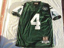 Jeff Hamilton Bret Favre NY Jets Jersey Adult Size L + Reebok Fitted Jets Cap