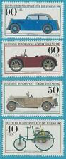 Bundesrepublik 1982 ** postfr. 1123-1126 + Ersttagsbrief + Ersttagsblatt  - Auto