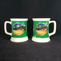 2 The Polar Express Punched Believe Ticket 3D Embossed The Bell Still Rings Mugs