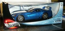 HOT WHEELS 1/18 DODGE VIPER GTS-R MINT IN BOX