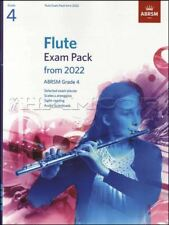 More details for flute exam pack from 2022 abrsm grade 4 sheet music book/audio with piano