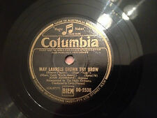 """JOAN HAMMOND """"May Laurels Crown Thy Brow""""/""""The Names So Holy"""" 78rpm 10"""" 1943 NM+"""