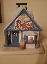 Partylite The Cottage Bakery Large Ceramic Votive Candle Holder With Box