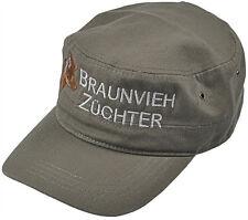 Military Cap Caps Kappe Hut Muetze Kuehe Rinder Braunvieh Zuechter 60542