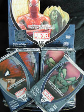 (0,15€/Einheit) 32 Sammelkarten Marvel Knights Web of Spiderman in 2 Booster