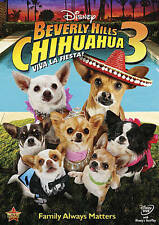 Beverly Hills Chihuahua 3: Viva La Fiesta! (DVD, 2012)