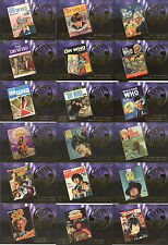 """Doctor Who Trilogy - """"Gold Foil 'Annuals' Cards"""" Set of 18 Chase Cards #F1-18"""