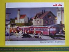 Catalogue MARKLIN 2006 F L'autorail Légendaire de Uerding (Schienenbus) Neuf 6 p